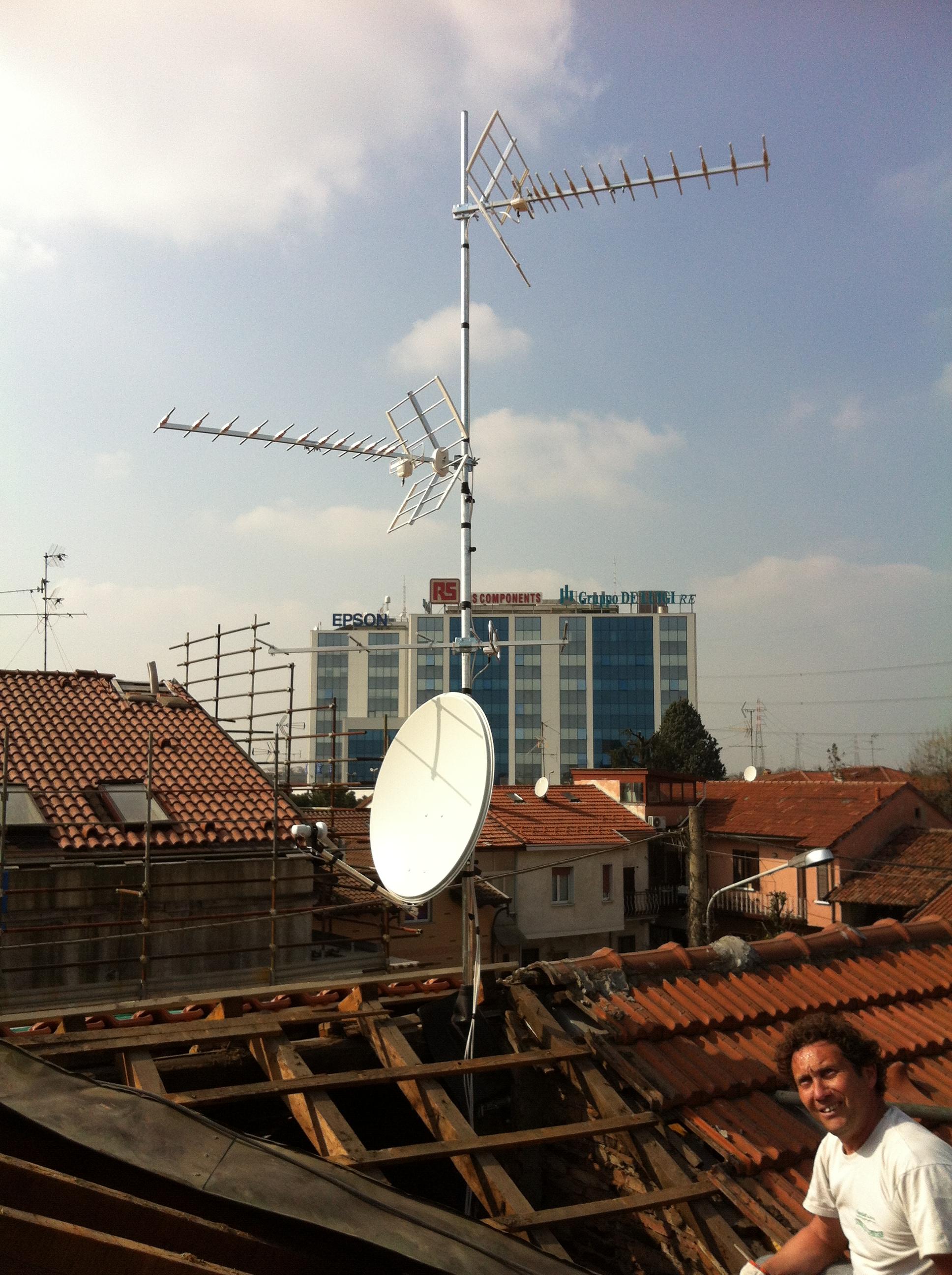 Sostituzione Antenna Tv A Tetto Home Services Tel 02 23161630